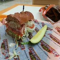 Photo taken at Firehouse Subs by Nate J. on 5/15/2013