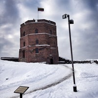 Photo taken at Gediminas' Tower of the Upper Castle by Pavel Z. on 12/14/2012