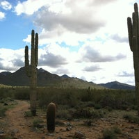 Photo taken at Sonoran Preserve - Sonoran Loop Trail by Isaac K. on 2/9/2013