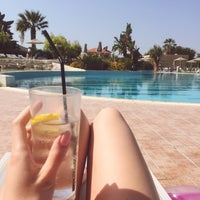 Photo taken at Pool at Electra Palace Rhodes by Doortje on 9/14/2016