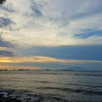 Photo taken at Pantai Kelapa Tujuh by Wongso W. on 11/16/2016