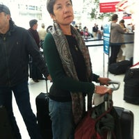 Photo taken at Aeroflot Check-in by Wine Detective on 4/14/2013