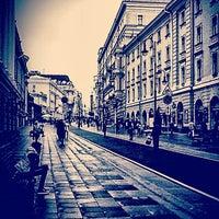 Photo taken at Bolshaya Dmitrovka Street by evgeniyflor N. on 9/13/2013
