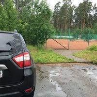 Photo taken at Всеволожская Детская Теннисная Академия (ВДТА) by Кирилл Г. on 6/19/2016