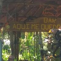 Photo taken at Bar Aqui Me Quedo by Jiminycricket on 10/25/2014