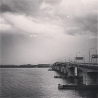 Photo taken at Malaysia - Singapore Border by Vince K. on 2/5/2013