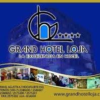 Photo taken at Grand Hotel Loja by Emilia J. on 1/30/2014