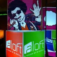 Photo taken at Aloft Brussels Schuman by Marta B. on 1/13/2013