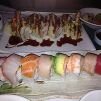 Photo taken at Pacific Cabin Sushi by elsa on 12/6/2013
