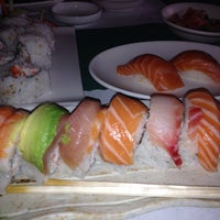 Photo taken at Pacific Cabin Sushi by elsa on 12/20/2013