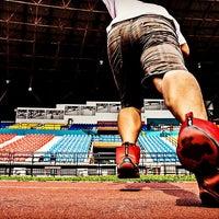 Photo taken at Kelana Jaya Stadium by Alan L. on 8/22/2016