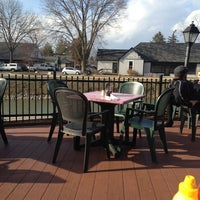 Photo taken at Flatwater Restaurant by Hailey L. on 3/31/2013