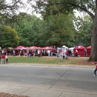 Photo taken at University of Alabama Quad by Hailey L. on 10/27/2012
