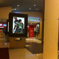 Photo taken at Cinemex by Osvaldo S. on 7/5/2013