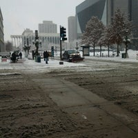 Photo taken at 4th and Nicollet Mall Bus Stop by Ed C. on 2/10/2013
