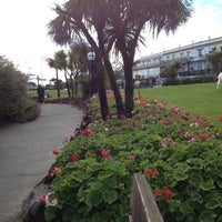 Photo taken at Babbacombe Downs by Leebai G. on 10/6/2012