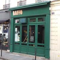 Photo taken at Baffo by Fabien Z. on 6/2/2014