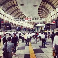 Photo taken at Shinagawa Station by Sebastian B. on 6/27/2013