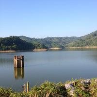 Photo taken at BangWard Dam by Jamie M. on 3/19/2013