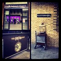 Photo taken at Platform 9¾ by Martina on 1/12/2013