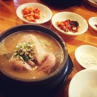 Photo taken at 토속 한방 삼계탕 by java l. on 8/17/2013