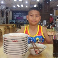 Photo taken at The little & The giant boat noodle by Michele R. on 11/22/2014
