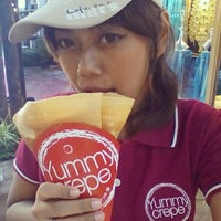 Photo taken at Yummy Crepe by Yummy C. on 7/22/2014