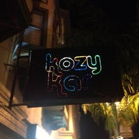 Photo taken at Kozy Kar Bar by kW on 12/9/2012