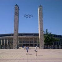 Photo taken at Olympiastadion by Leniik on 7/23/2013