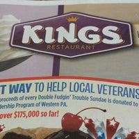 Photo taken at Kings Family Restaurant by Lisa L. on 2/27/2014