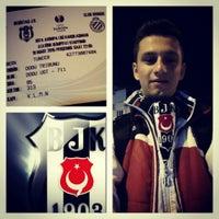Photo taken at Uşak-Beşiktaş Yolu by Berk T. on 3/18/2015