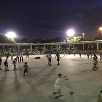 Photo taken at Parque dos Patins by Leandro J. on 5/1/2013