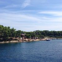 Photo taken at Jerolim Island by Slava K. on 8/31/2014