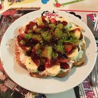 11/14/2015 tarihinde Tuğba Ö.ziyaretçi tarafından Waffle'cı Akın'de çekilen fotoğraf