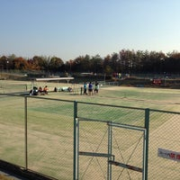 Photo taken at アオノテニスクラブ by つおんが on 11/22/2014