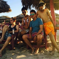 "Photo taken at ""Playa miramar"" by Betto A. on 6/9/2015"