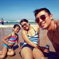 "Photo taken at ""Playa miramar"" by Betto A. on 9/7/2014"