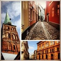 Photo taken at Latvijas Republikas Saeima  |  Saeima of the Republic of Latvia by Andrey M. on 4/15/2013