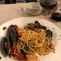 Photo taken at Trattoria Bar Pontini by Melissa D. on 11/21/2017