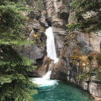 Photo taken at Lower Falls of Johnston Canyon by Melissa D. on 10/22/2017