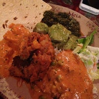 Photo taken at Mela Tandoori Kitchen by Melissa D. on 11/16/2012