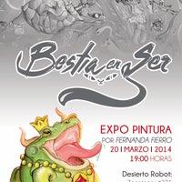 Photo taken at Desierto Robot [colección·arte] by Desierto Robot [colección·arte] on 3/16/2014