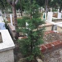 Photo taken at Manisa Kırtık Mezarlığı by Muhsin S. on 4/15/2018