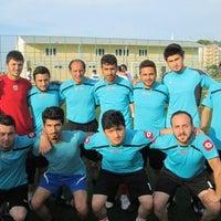 Photo taken at Eynesil İlçe Stadı by Mehmet S. on 6/13/2014
