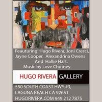Photo taken at Hugo Rivera Gallery by Hugo Rivera Gallery on 1/31/2014