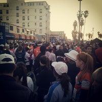 Photo taken at 13.1 LA Marathon by Terry M. on 1/13/2013