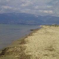 Photo taken at Denetko Plajı by tuba G. on 10/25/2012