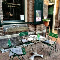 Photo taken at Cafe Verheyden by Puur! uit eten on 6/8/2013