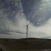 Photo taken at Güriş Holding 115 MW Dinar Rüzgar Enerji Santralı by Raif A. on 2/7/2014