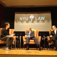 Photo taken at NYU Law | Vanderbilt Hall by Christine O. on 10/5/2012